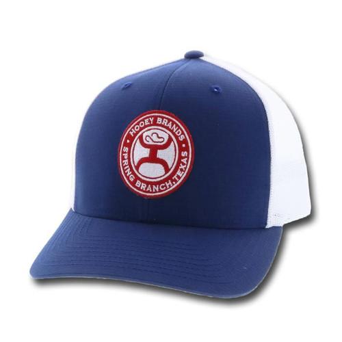 """HOOEY """"EL CAMINO"""" NAVY CAP - HATS CAP   - 1818T-BLWH"""