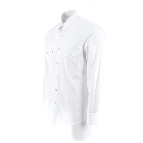LUCCHESE EL PASO WHITE WITH PEARL SNAPS - MENS SHIRT   - AZ20001-1304