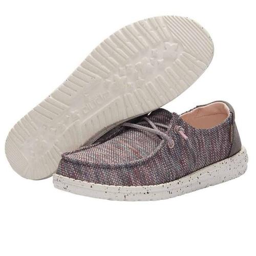 HEY DUDE WENDY SOX ANTIQUE ROSE - FOOTWEAR LADIES   - 121925006