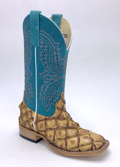 MACI BEAN BOOTS ANTIQUE BASS TURQUOISE TOP - BOOT LADIES   - M2008