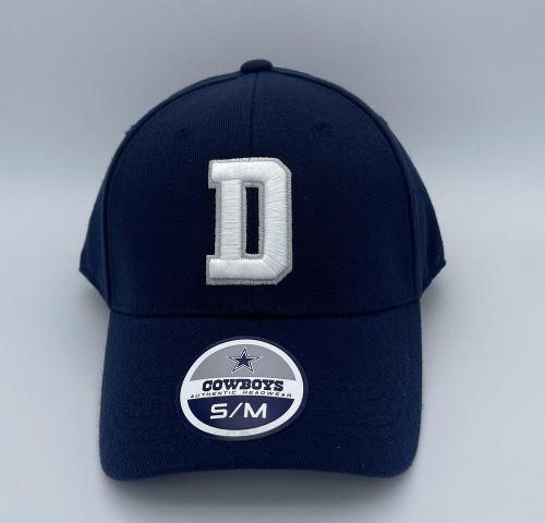 DALLAS DALLAS COWBOYS NAVY WHITE D - HATS CAP   - S036M