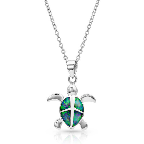 MONTANA SILVERSMITHS TURTLE LOVE PENDANT - ACCESSORIES JEWELRY NECKLACE - NC4125