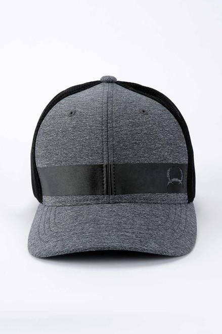 CINCH GREY BLACK FLEXFIT - HATS CAP   - MCC0653312
