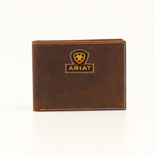 ARIAT BIFOLD INLAY RIBBON LOGO - ACCESSORIES WALLET   - A3549644