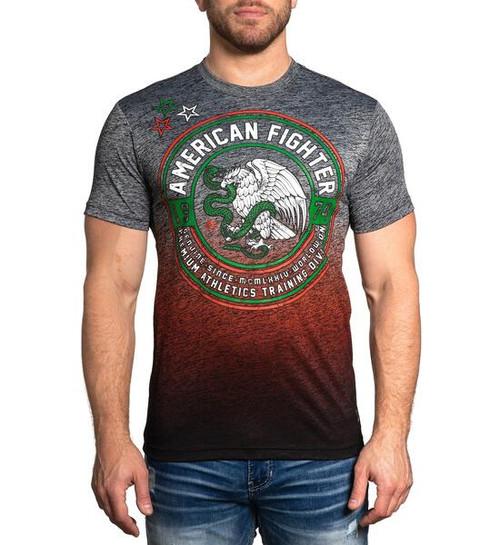 AMERICAN FIGHTER EL PASO TMT TEE BLACK - MENS TEE   - FM12834