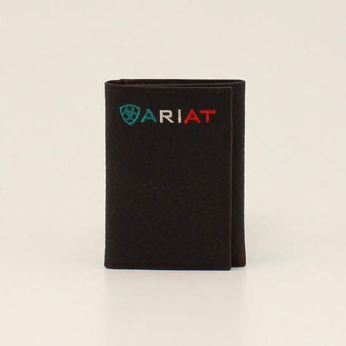 ARIAT TRIFOLD MEXICO FLAG ARIAT LOGO - ACCESSORIES WALLET   - A35508282