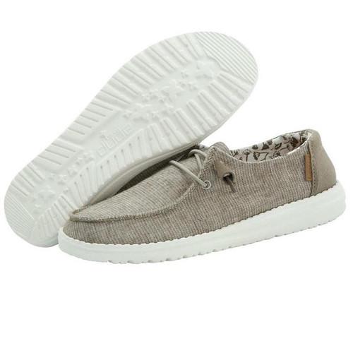 HEY DUDE WENDY CHAMBRAY SAGE - FOOTWEAR LADIES   - 121418413
