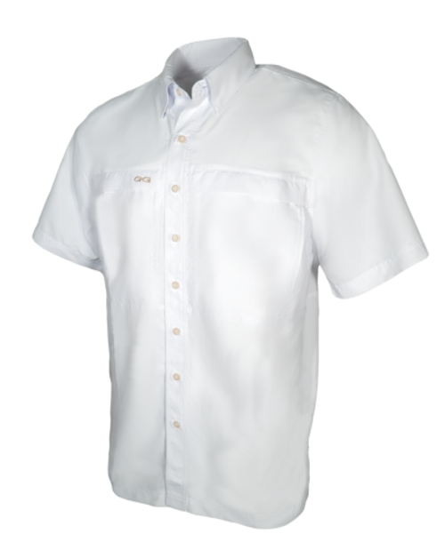 GAMEGUARD WHITE MICROFIBER - MENS SHIRT   - 1023WHT