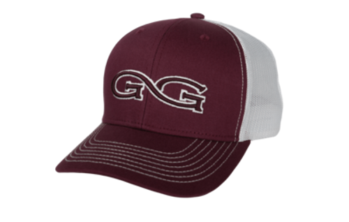 GAMEGUARD MARRON CAP WHITE MESH - HATS CAP   - 5115LMAR