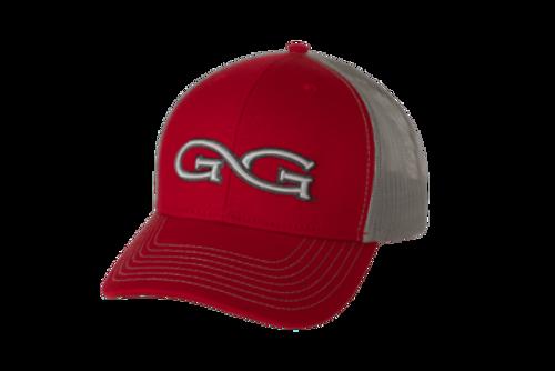 GAMEGUARD RED CAP GLACIER MESH - HATS CAP   - 5119LRED