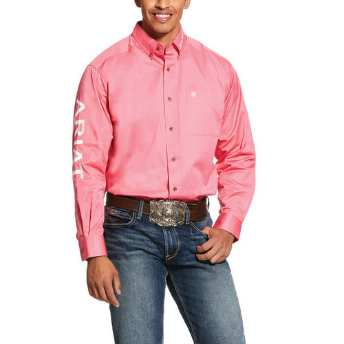 ARIAT TEAM LOGO TWILL CLASSIC FIT - MENS SHIRT   - 10030750
