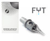 FYT Dermapoint Scalp Micropigmentation Cartridge Needle - 1 Round Liner #10 Angled