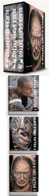 Black & Grey Tattoo - 3 Book Set