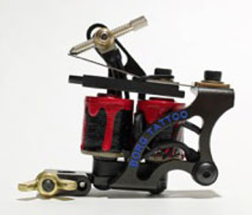 Borg - Bloody Tattoo Machine - Limited Edition - RCA Connection - STEEL - Liner