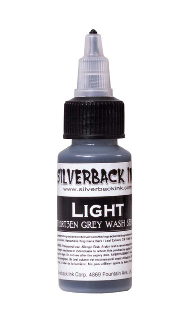 Silverback Th1rt3en Grey Wash 1oz - Light
