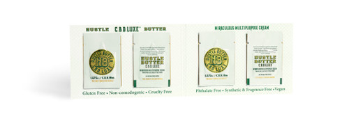 Hustle CBD Luxe Packette .25oz / 7.5gm 4 per pack