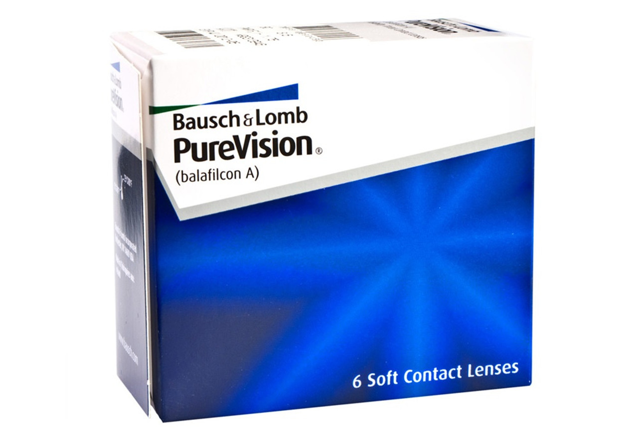 purevision contact lenses purevision 6 pack