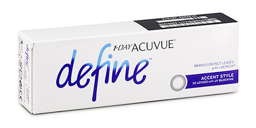 1 - Day Acuvue Define - Accent Style - 30 Pack Front