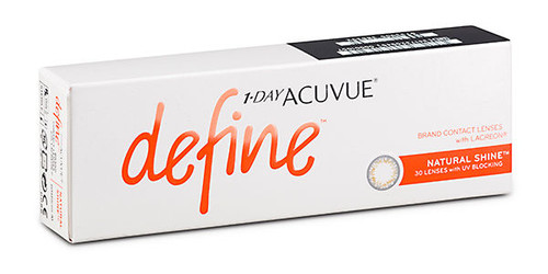 1 - Day Acuvue Define - Natural Shine - 30 Pack Front