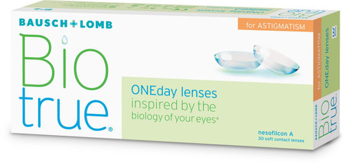 Biotrue ONEday for Astigmatism - Front