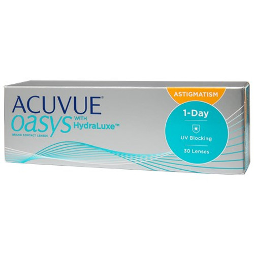 Acuvue Oasys Daily with HydraLuxe for Astigmatism