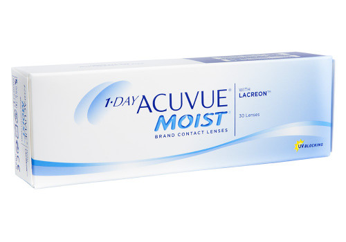 1 - Day Acuvue Moist - 30 pack Front