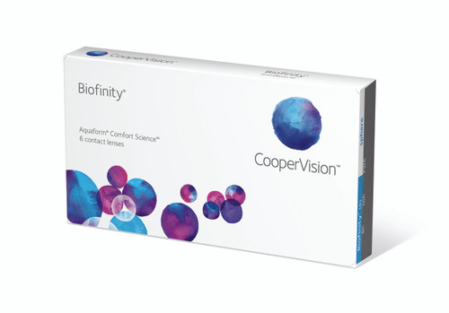 Biofinity 6 Pack Front Right