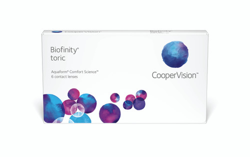 Biofinity Toric - 6 Pack Front