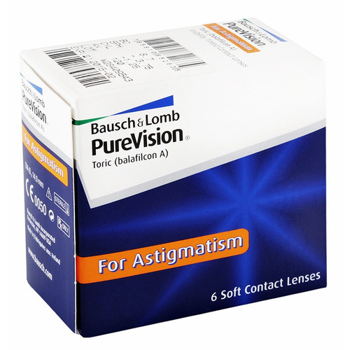 Purevision Toric - 6 Pack Front