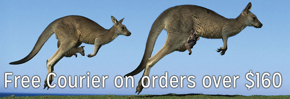 Free Courier on orders over $160