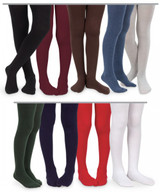 School Colours available in the Pima Cotton Tights