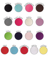 Pima Cotton Kids Capri Leggings colours available.