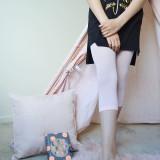 Pima Cotton Kids Capri Leggings.