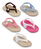 Newborn Crochet Sandals - Available Colours