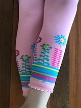 Baby Cloud Leggings in Pink Detail