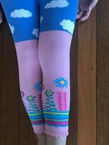 Baby Cloud Leggings in Pink