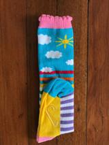 Sunshine Stripes - Kids Knee High Socks