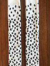 Close up of the Leopard Print Kids Tights