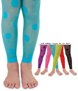 These dotty tights are super cute, and come in a great range of colours.