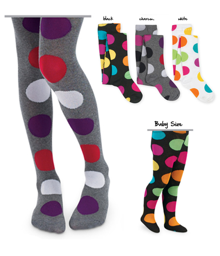 Mega Dot Kids Tights