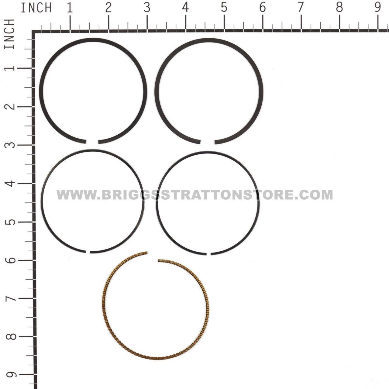 Briggs /& Stratton 795431 Ring Set