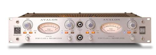 Avalon AD2022 Dual Mono Mic Preamp