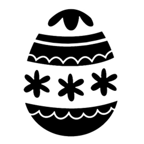 Reusable Stencils, Easter Eggs Holiday Decor
