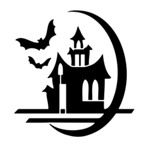 Reusable Stencils,  Halloween Haunted House