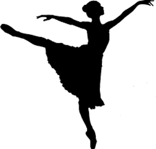 Reusable Stencils, Ballerinas, Ballets, Ballet Slippers, Ballerina's Shoes