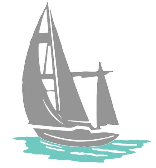 Reusable Stencils,  Sailboat