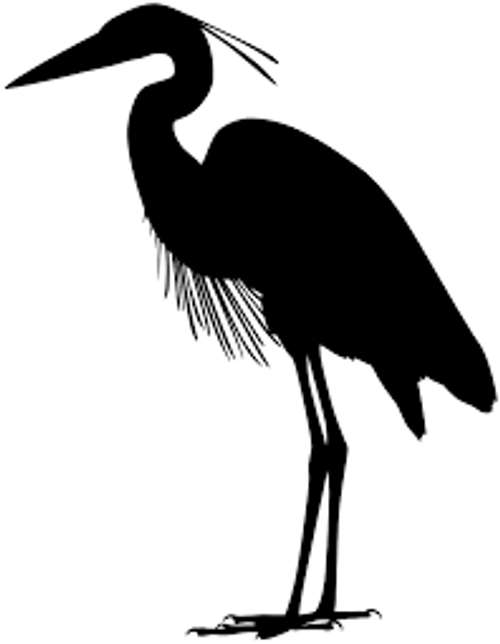 Reusable Stencils, Crane, Stork, Egret, Large Birds, Tropical Birds