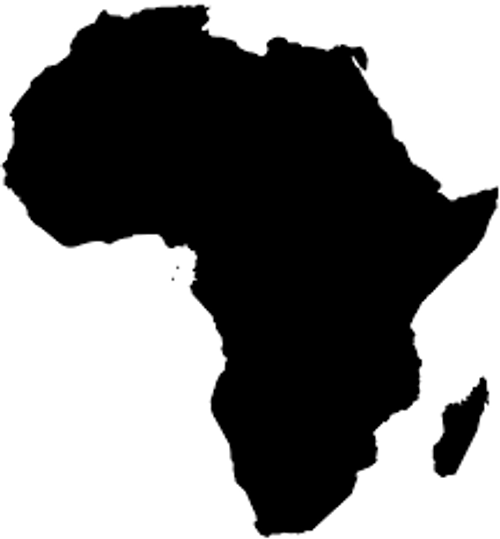 Reusable Stencils, African Nation, Continent
