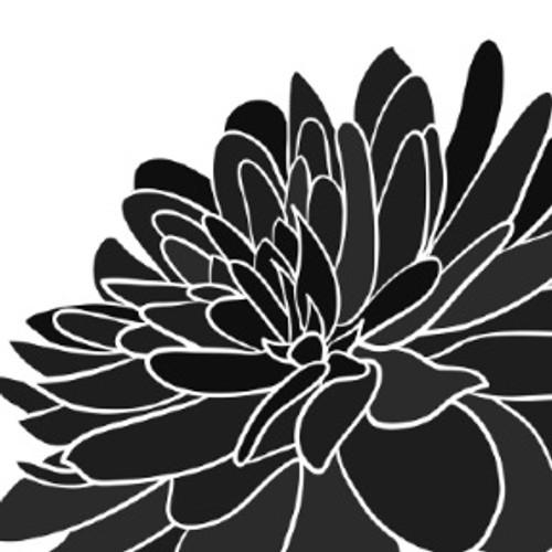 Reusable Stencils, Chrysanthemums, Daisy Mum, Flowers, Florals