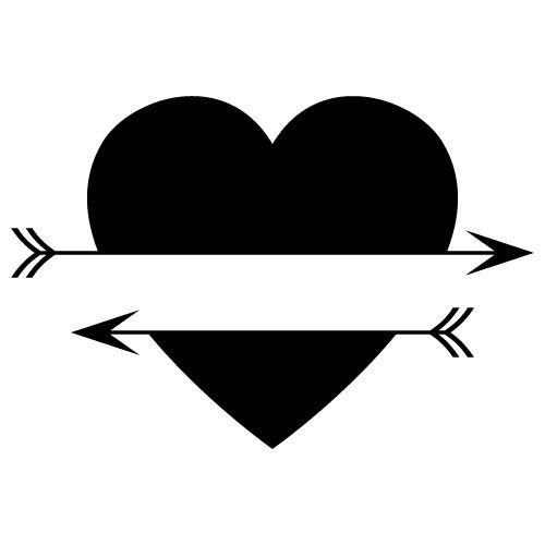 Reusable Stencils, Custom, Customizable Heart, Sign, Monogram, Your Name, Initials